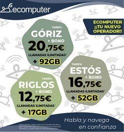 Ofertas de Ecomputer en el catálogo de Ecomputer ( Caducado)
