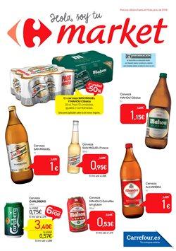 Ofertas de San Miguel  en el folleto de Carrefour Market en Madrid