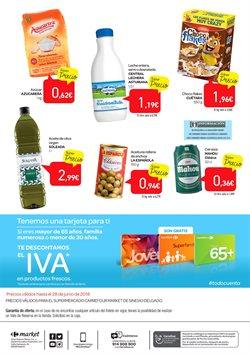 Ofertas de Leche  en el folleto de Carrefour Market en Madrid