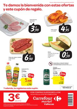 Ofertas de Mahou  en el folleto de Carrefour Market en Madrid