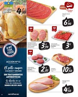 Ofertas de Hamburguesas  en el folleto de Carrefour Market en Madrid
