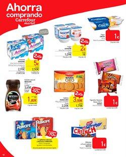 Ofertas de Desayuno, postres y pan  en el folleto de Carrefour Market en Madrid