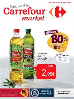 Ofertas de Hiper-Supermercados  en el folleto de Carrefour Market en L'Hospitalet de Llobregat