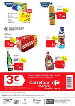 Ofertas de Fairy  en el folleto de Carrefour Market en Chiclana de la Frontera