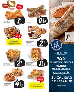 Ofertas de Pan  en el folleto de Carrefour Market en Madrid