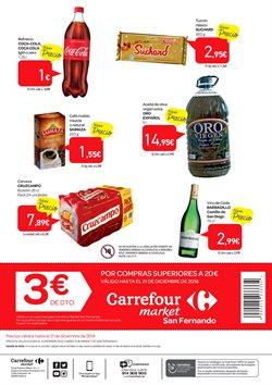 Ofertas de Cerveza  en el folleto de Carrefour Market en El Puerto De Santa María