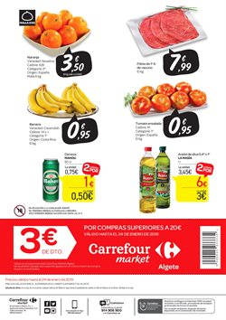 Ofertas de Naranjas  en el folleto de Carrefour Market en Alcalá de Henares