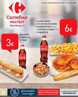 Ofertas de Comida rápida  en el folleto de Carrefour Market en Madrid