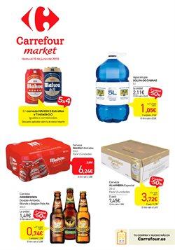 Ofertas de Agua  en el folleto de Carrefour Market en Palencia
