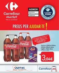 Catálogo Carrefour Market en Vallfogona de Balaguer ( 5 días más )