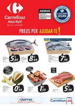 Catálogo Carrefour Market en Vallfogona de Balaguer ( 2 días publicado )