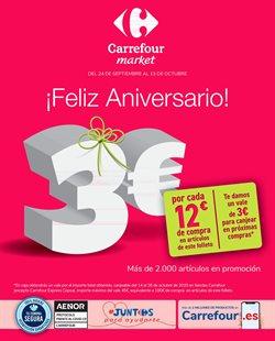Catálogo Carrefour Market en Huelva ( 12 días más )