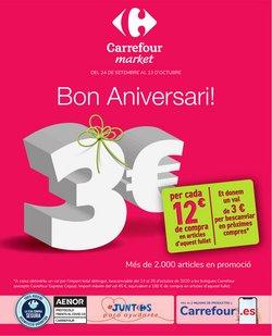 Catálogo Carrefour Market en Barcelona ( 12 días más )