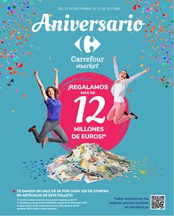 Ofertas de Carrefour Market en el catálogo de Carrefour Market ( 18 días más)