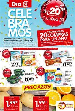 Ofertas de Naranjas  en el folleto de Dia en Alcalá de Henares