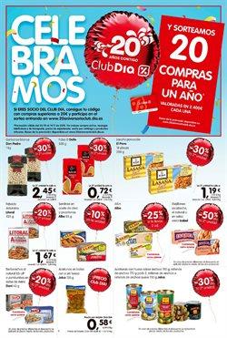 Ofertas de Pasta  en el folleto de Dia en Madrid