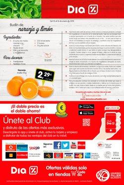 Ofertas de Naranjas  en el folleto de Dia en Madrid