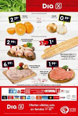 Ofertas de Pollo  en el folleto de Dia en Figueres