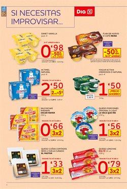 Ofertas de Flan de huevo  en el folleto de Dia en Viladecans