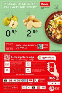 Ofertas de Manzana golden  en el folleto de Dia en Madrid