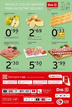 Ofertas de Salchichas de pollo  en el folleto de Dia en Figueres