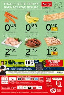 Ofertas de Lomo de cerdo  en el folleto de Dia en Mollet del Vallès