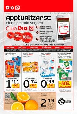 Ofertas de Detergente  en el folleto de Dia en Mairena del Aljarafe