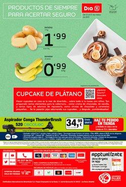 Ofertas de Aspirador escoba  en el folleto de Dia en Madrid