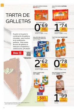 Ofertas de Galletas rellenas  en el folleto de Dia en Alicante