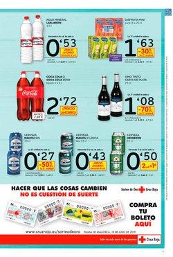 Ofertas de Agua  en el folleto de Dia en Palencia