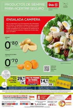 Ofertas de Patatas  en el folleto de Dia en Alcorcón
