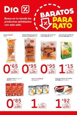 Ofertas de Pastas  en el folleto de Dia en Prat de Llobregat