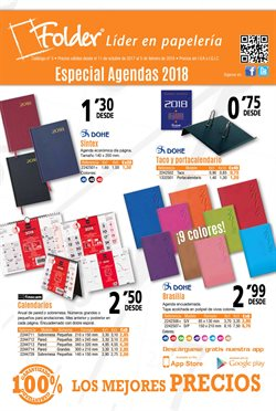 Ofertas de Folder  en el folleto de Madrid