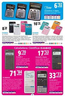 Ofertas de CASIO en el catálogo de Folder ( 15 días más)