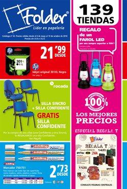 Ofertas de Libros y papelerías  en el folleto de Folder en La Orotava