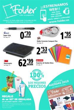 Ofertas de Libros y papelerías  en el folleto de Folder en Córdoba