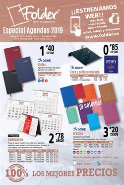 Ofertas de Agenda  en el folleto de Folder en Madrid