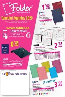 Ofertas de Folder  en el folleto de Córdoba