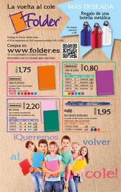 Ofertas de Libros y Papelerías en el catálogo de Folder ( Publicado ayer )