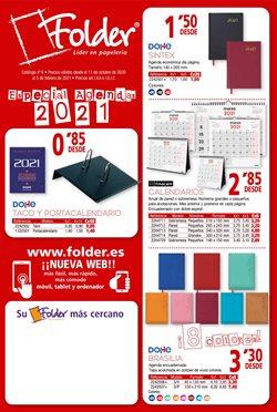 Ofertas de Libros y Papelerías en el catálogo de Folder en Teulada ( Más de un mes )