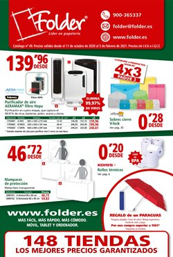 Ofertas de Fellowes en Folder