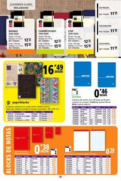 Ofertas de Cuadernos en Folder
