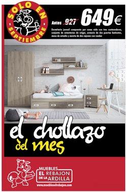 Ofertas de Muebles El Rebajón en el catálogo de Muebles El Rebajón ( Caducado)