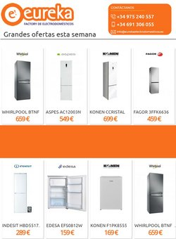 Ofertas de Eureka Electrodomésticos en el catálogo de Eureka Electrodomésticos ( Publicado hoy)