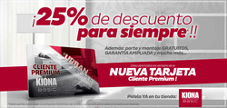 Ofertas de Kiona  en el folleto de Madrid