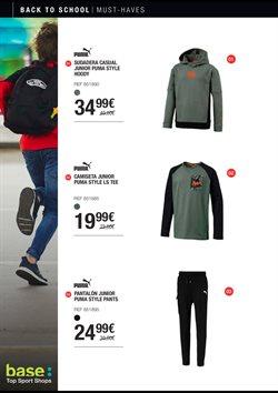 Ofertas de Camiseta  en el folleto de Base en Getafe