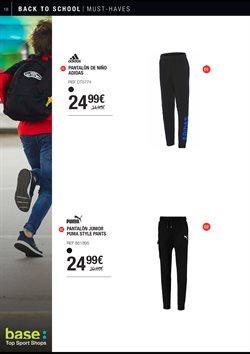 Ofertas de Pantalones  en el folleto de Base en Madrid