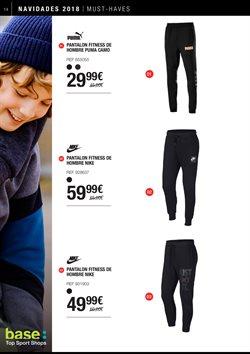 Ofertas de Pantalones de deporte  en el folleto de Base en Valladolid