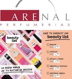 Ofertas de Arenal Perfumerías en el catálogo de Arenal Perfumerías ( Publicado hoy)