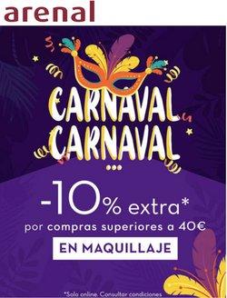 Ofertas de Carnaval en el cat谩logo de Arenal Perfumer铆as ( 2 d铆as m谩s)